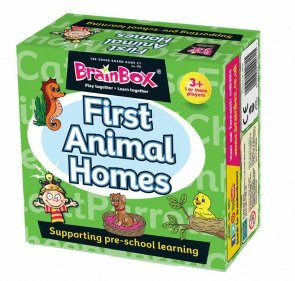 Brain Box First Animal Homes, Juego de Mesa, (31690074A)