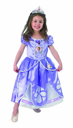 Rubie's Disney Deluxe Kinder Kostüm Prinzessin Sofia The First Gr.2-3 - Sofia Disney Prinzessin Kostüm