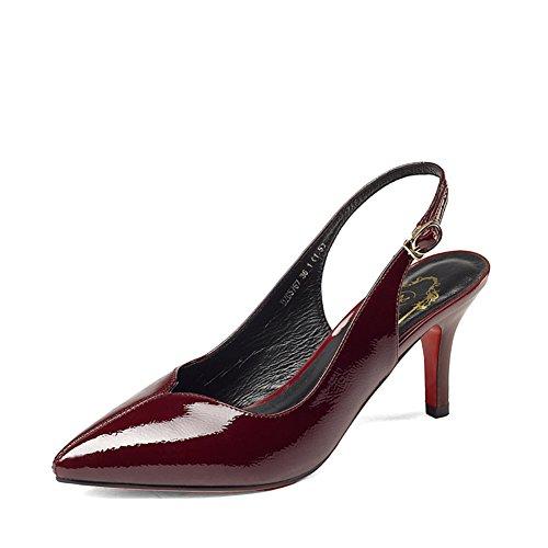 Casual chaussures fashion Lady trajet/shallow pointus talons aiguilles/escoge los zapatos C