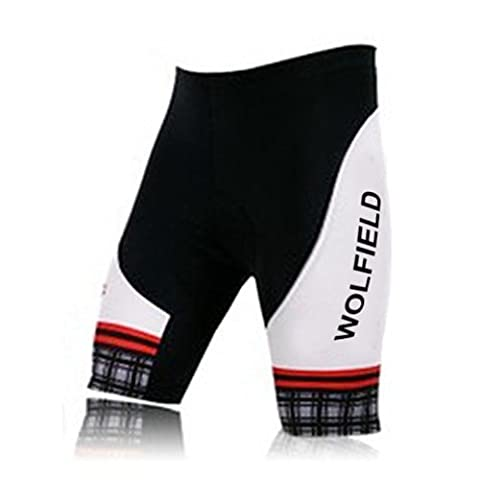 Lixada Fahrradhose Männer Reiten Shorts 3D gepolsterte Gel Shorts für Radfahren Fahrrad Bike Wear Outdoor Fitness Sport
