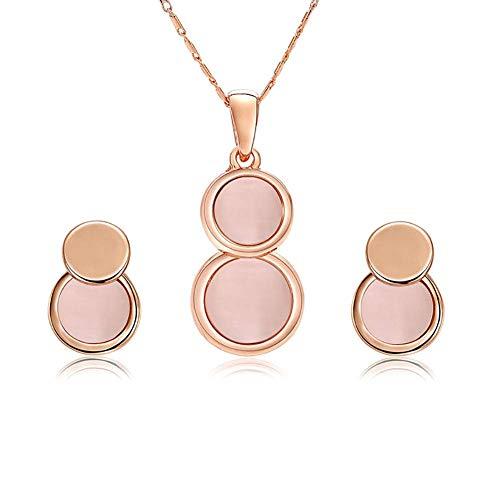 Carry stone Vintage Kreis Design Schmuck Sets für Frauen Gold Farbe Metall Runde Anhänger Halskette Aussage Ohrringe Hochzeit Schmuck Geschenk Hohe Qualität