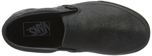 Vans Classic Slip-On- Sneaker Unisex Adulto Nero (Patent Crackle)