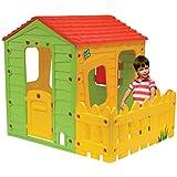 VIVAKID - Cabane enfant en PVC Fermette - 1.18 x 1.46 x 1.27 m