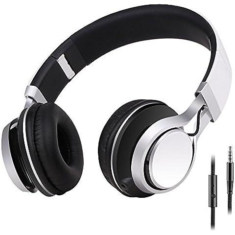 Sound Intone HD30 Bambini Cuffie con Microfono Cablate Portatili Stereo
