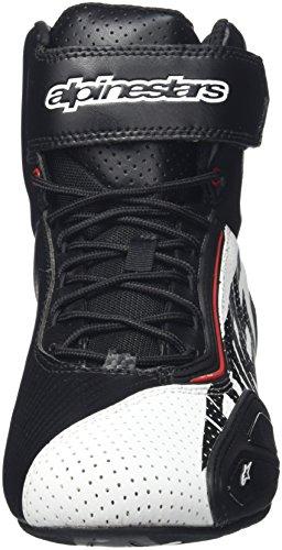 Alpinestars FASTER 2 VENTED Herren Motorradschuh Mikrofaser - schwarz weiss rot Größe 44 - 4
