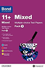 Bond 11+: Mixed Multiple-choice Test Papers: Pack 1