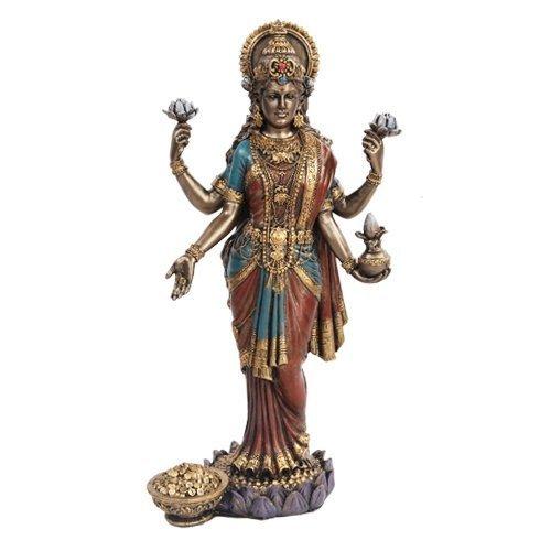 Lakshmi Hindu dea statua scultura