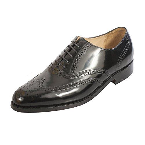 BARKER , Chaussures de ville à lacets pour homme vierge Noir