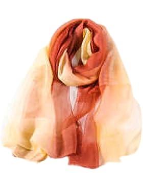 Efudfj Lady Silk Gradient Cuidado De La Piel Suave Al Medio Ambiente Inteligente Luz Elegante Humedad Transpiración...