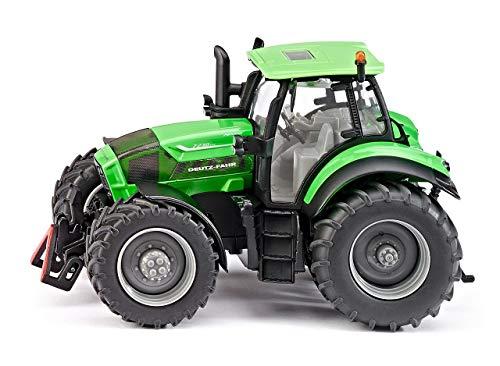 SIKU 3284, DEUTZ-FAHR Agrotron 7230 TTV Traktor, 1:32, Metall/Kunststoff, Grün, Kombinierbar mit SIKU Modellen im gleichen Maßstab -