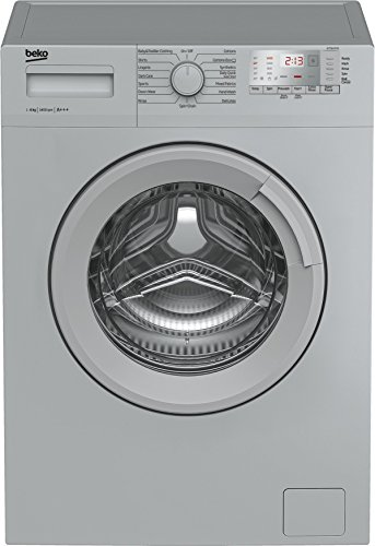 Beko WTG641M1S A+++ Rated 6Kg 1400 Spin Washing Machine in Silver 15 Programmes