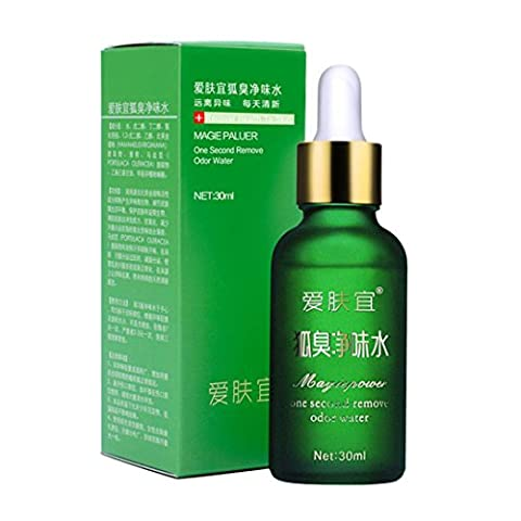 Remove Odor Essence Remove Underarm Armpit Refresh Body Feet Odor Dew Deodorant Antiperspirant Fragrance dew Lanspo (A)