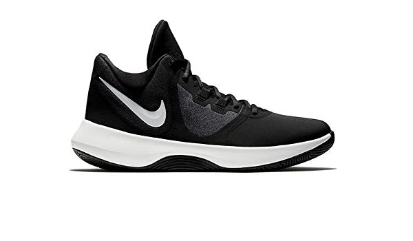 62933fc7c50 Nike Men s Air Precision Ii NBK Basketball Shoes Black White 001 13 UK   Amazon.co.uk  Shoes   Bags