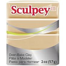 Sculpey III sculptan - Producto de escultura, color beige