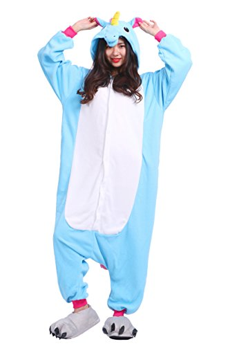 Azul AKAAYUKO Unicornio Animal Pijama Unisex Nuevo Kigurumi Adulto Onesies wwxAU4fXq