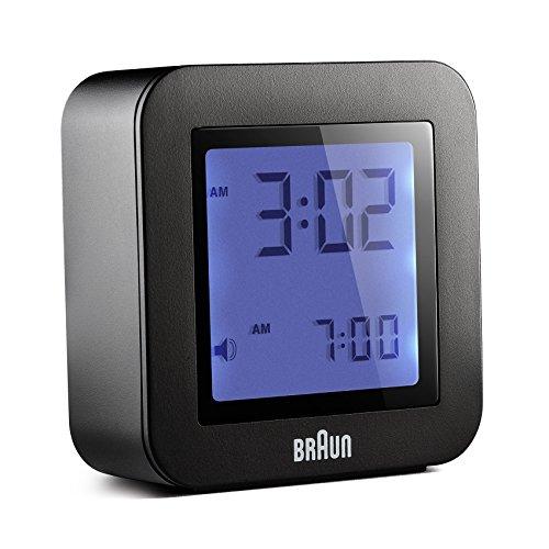 Braun BNC-018-BK Reloj Despertador Digital