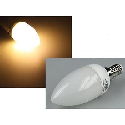 "LED 1,6W Glühlampe ""Kerzenform"" E14 mit 24 LEDs 85lm warmweiß von Chilitec auf Lampenhans.de"
