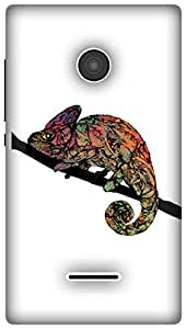 The Racoon Grip Chameleon hard plastic printed back case / cover for Microsoft Lumia 532