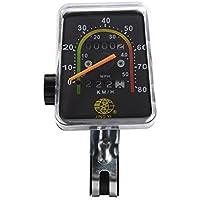 XCSOURCE® Fahrrad Wegmesser Kilometerzähler Stoppuhr Radfahren Klassik mechanisch Tachometer Uhr Wasserdicht CS342