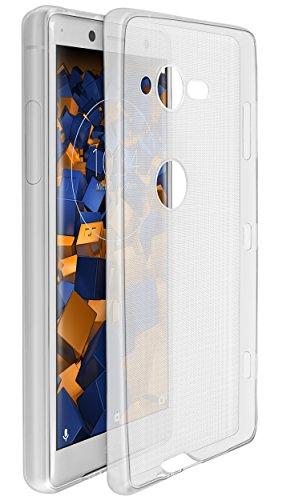 mumbi UltraSlim Hülle für Sony Xperia XZ2 Compact Schutzhülle transparent (Ultra Slim - 0.70 mm) Sony-schutzhülle