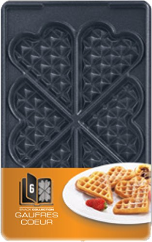 Tefal XA8006 Snack Collection Platte Herzwaffeln, Nummer 6