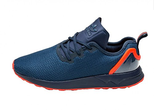 adidas ZX Flux ADV Asymmetrical Navy Navy Red White/Green