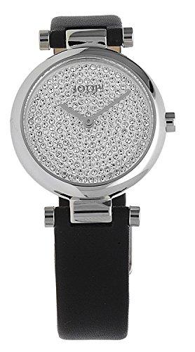Joop! - JP101722001 - Montre Femme - Quartz - Analogique - Bracelet cuir noir