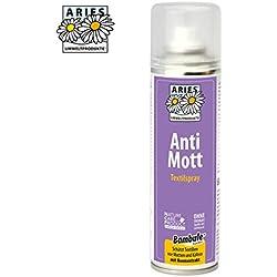 Aries4040 - anti-polillas, repelente de polilla, aerosol contra las polillas, Rociado textil, 200milliliter
