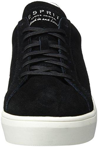 Esprit Elda Lu, Sneakers Basses Femme Noir (Black)