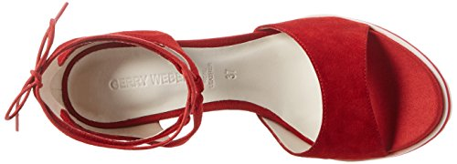 Gerry Weber Adriana 04, Sandales  Bout ouvert femme Rot (Rot)