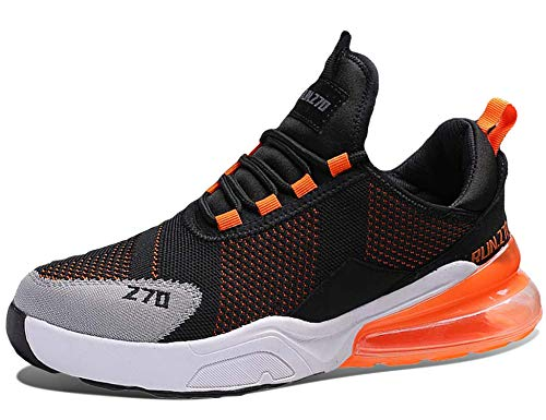 GNEDIAE Uomo Run 270 a Collo Basso Air Scarpe da Ginnastica Corsa Sportive Fitness Running Sneakers Basse Interior Casual all'Aperto Multicolore 41 EU