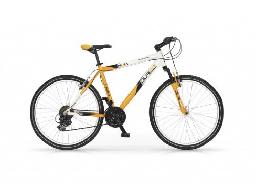 MBM DUAL POWER 26 H44 BICYCLE MOUNTAIN BIKE MTB ALLOY 21S H52 BICICLETA NARANJA