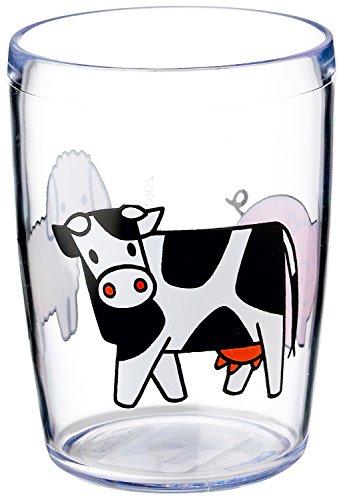 Mepal Trinkglas 200 ml, Kunststoff, Bauernhof, cm, 6.8 x 6.8 x 9.1 cm, 1 Einheiten