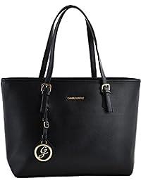 Miniprix sac classeur - Bolso de tela para mujer Negro negro talla única