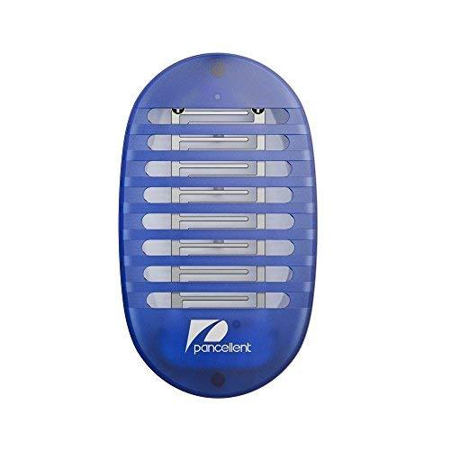 Pancellent Bug Zappers Mosquito Killer Lámpara electrónica Insecto Asesino con luz Nocturna (1 Pack)