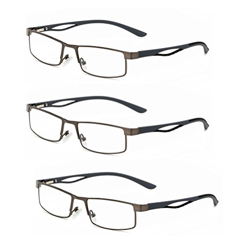 Zhhlaixing raffinatezza Classic Square Frame Reading Glasses Eyeglasses +1.0-+4.0 for Elderly Unisex mJXaU0yV