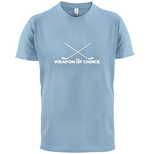Weapon Of Choice Ice Hockey - Herren T-Shirt - 13 Farben Himmelblau