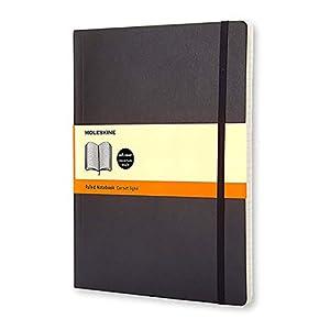 Moleskine Notizbuch, Xlarge, Liniert, Soft Cover, Schwarz