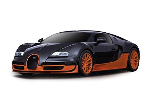 Jamara 404551 - Bugatti Grand Sport Vitesse, 1:24, Nero, 40MHz
