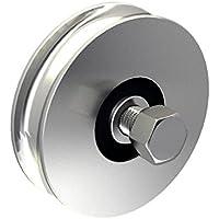 9 mm Abst Pollmann Baubeschl/äge 1060220 Plattenhaken D3 Dorn /Ø 12 mm hell verzinkt 2 St/ück