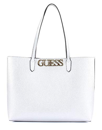 Guess UPTOWN CHIC BARCELONA TOTE SIL SILVER