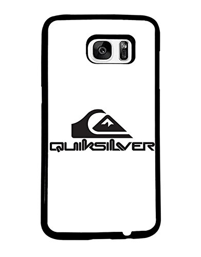 Brand Logo Samsung Galaxy S7 Edge CustodiaCase Quiksilver Snap On for Man Woman Quiksilver Samsung S7 Edge CustodiaCase Brand Logo Quiksilver