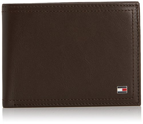 Tommy Hilfiger  HARRY N/S WALLET W/ COIN POCKET,  Herren portemonnaie , Braun - Marrone (Coffee Bean (Braun)) - Größe: Breite 12,5 cm, Höhe 9,5 cm, Tiefe 2,5 cm (Coffee Bean-halter)