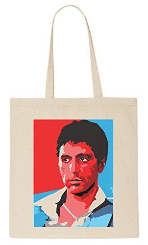 tony-montana-cartoon-fan-art-tote-bag