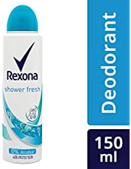 Rexona Women Shower Fresh Deodorant, 150ml