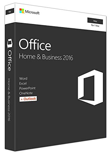 MlCROSOFT Office 2016 Home & Business per MAC os Versione Perpetua MICROSOFT