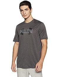 Under Armour Run Overlap Logo Men's Round Neck T-Shirt