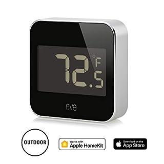 Elgato Eve Degree, Monitor de Temperatura y Humedad con Tecnología HomeKit de Apple, Bluetooth Low Energy (B071Y6CMRT) | Amazon Products