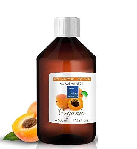 Olio di albicocca BIO 500 ml Olio di nocciolo albicocca puro spremuto a freddo Olio Abbronzante Olio doposole Olio bebe