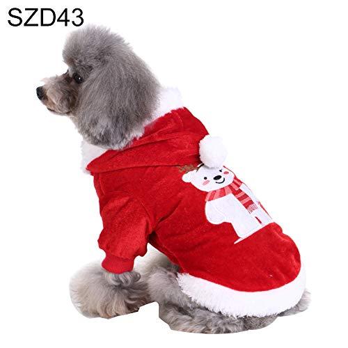 Panda Bear Halloween Kostüm Für Hunde - CricTeQleap Haustier Kleidung Schöne Weihnachtsbaum Bear